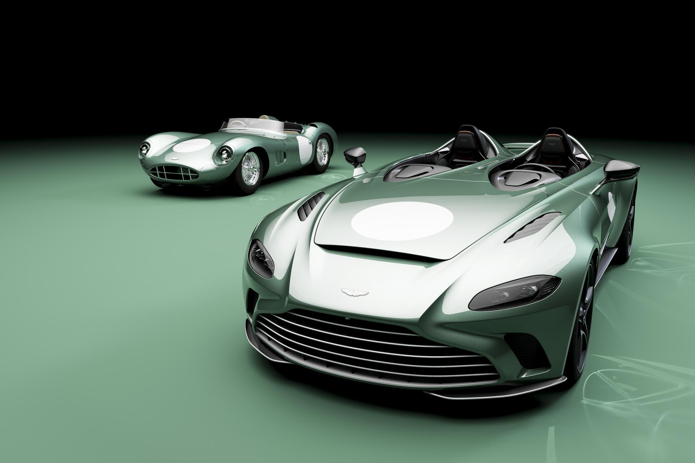 Aston Martin V12 Speedster Green