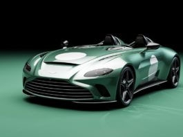 Aston Martin V12 Speedster price