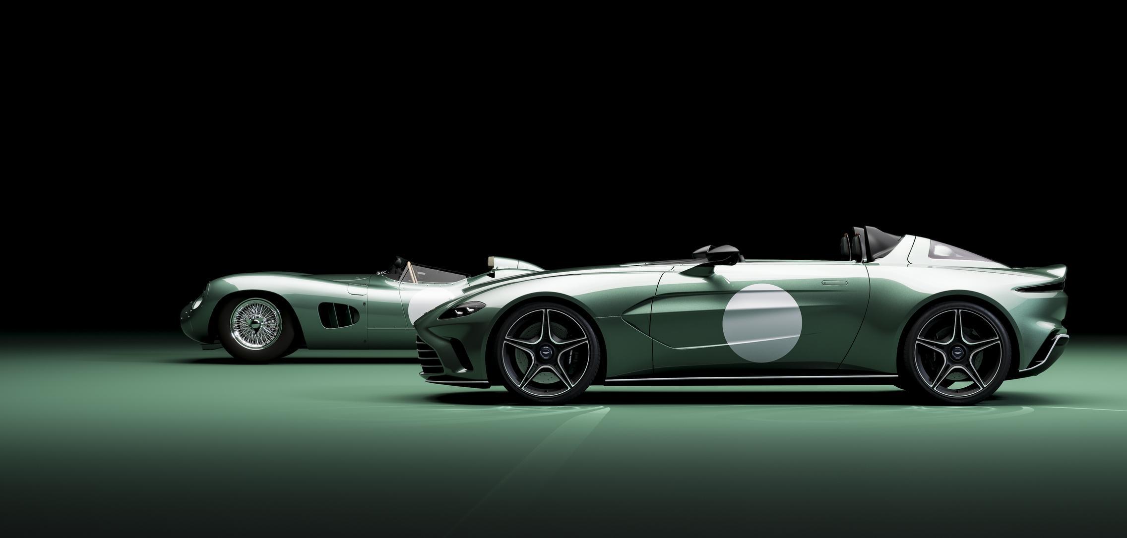 Aston Martin V12 Speedster side