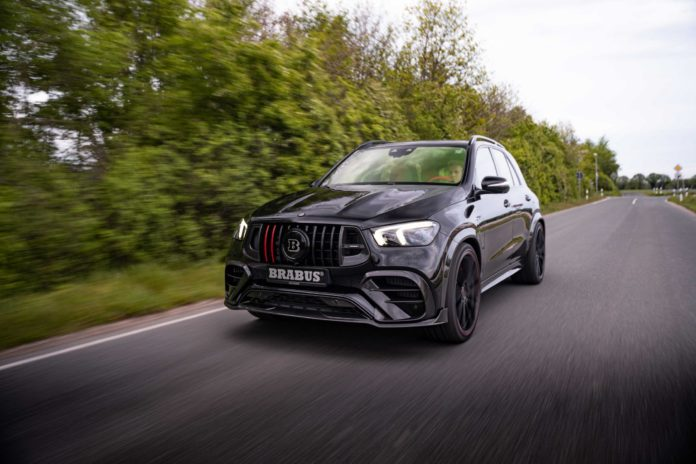 Brabus Reveals Mercedes-AMG GLE 63 S with 800hp