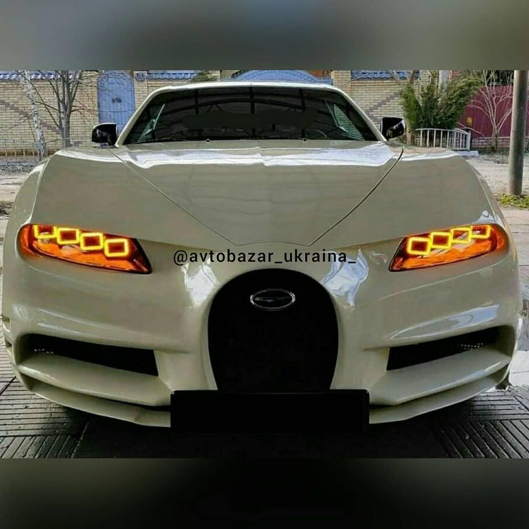 Bugatti Chiron Replica front
