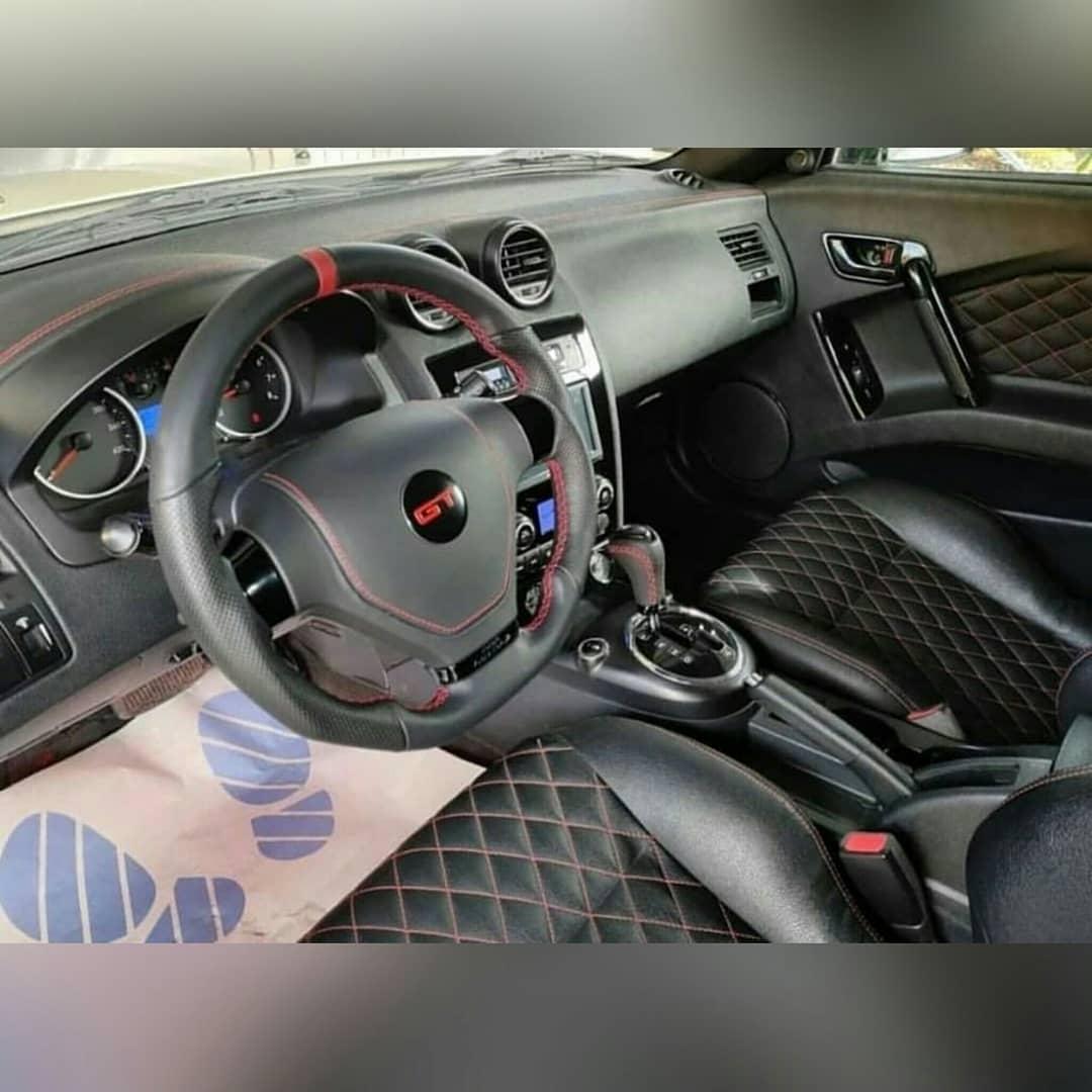 Bugatti Chiron Replica interior