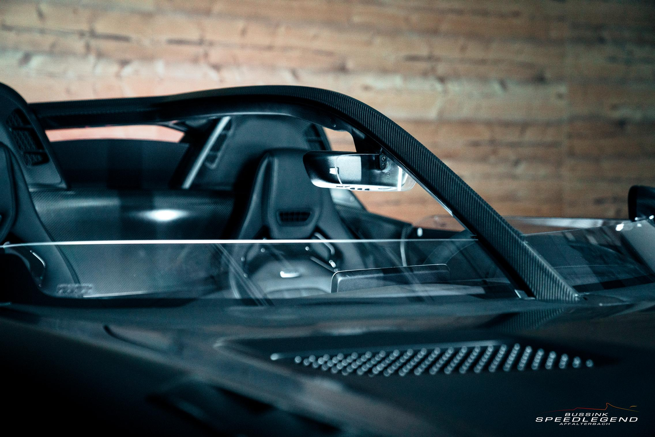 Bussink GT R Speedster windshield