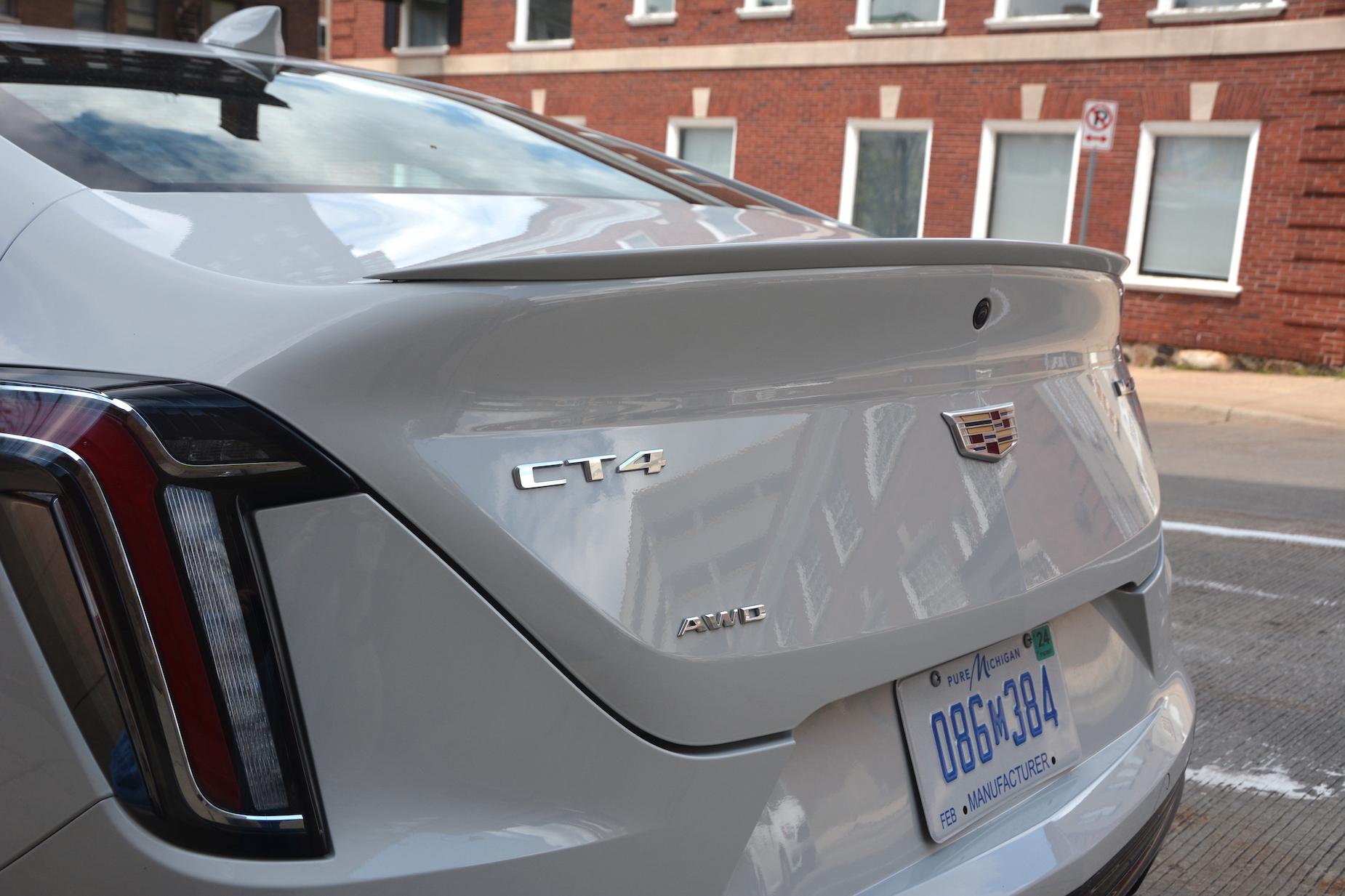Cadillac CT4 Badge