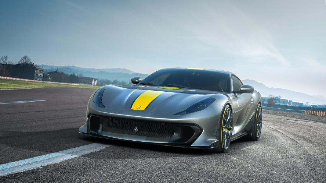 Ferrari 812 Competizione front