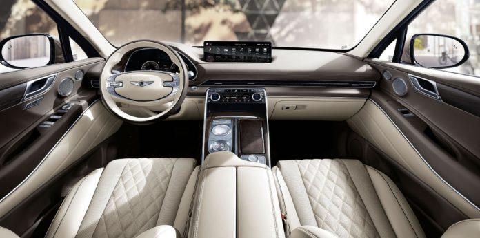 Genesis GV80 interior