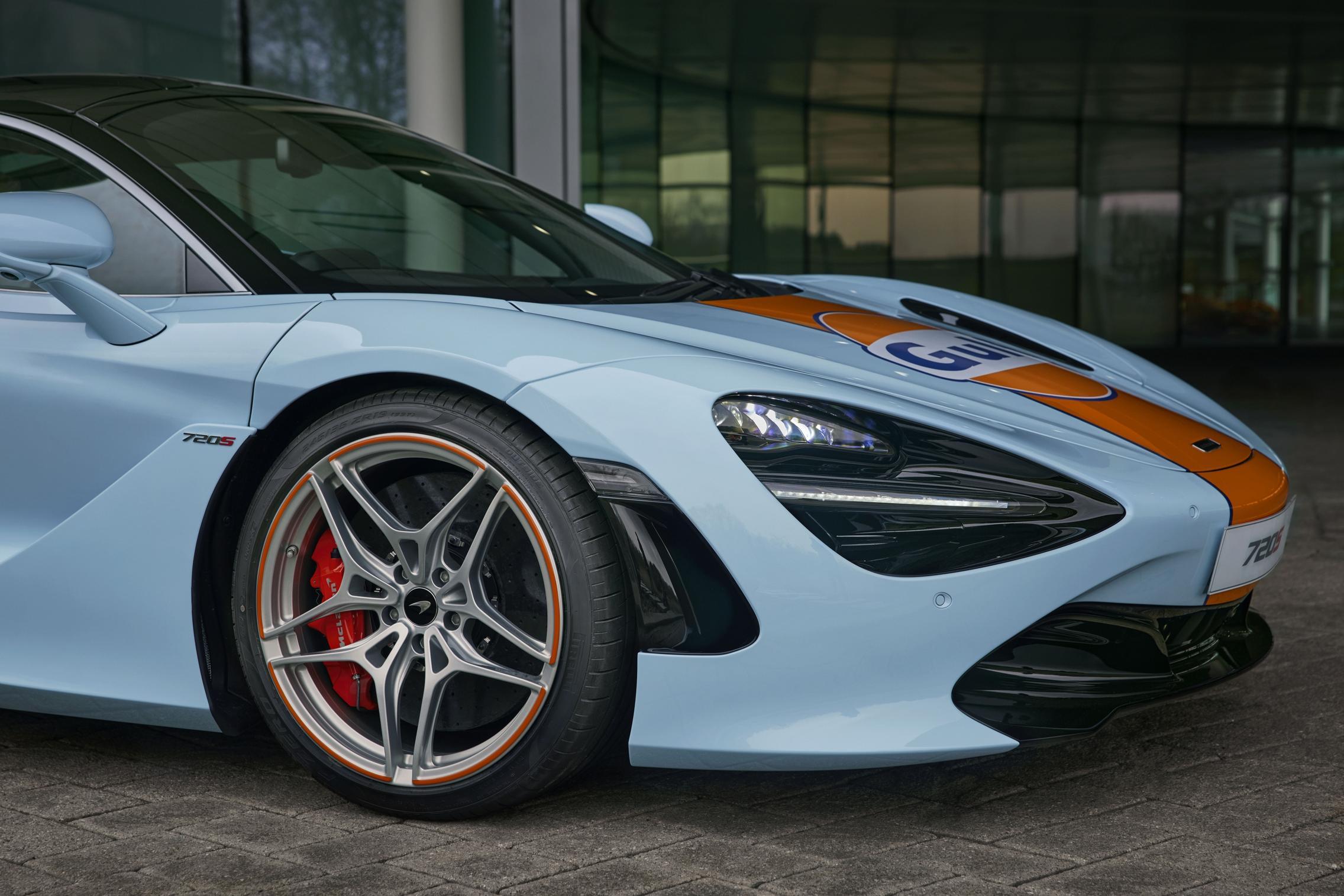 Gulf McLaren 720S wheels