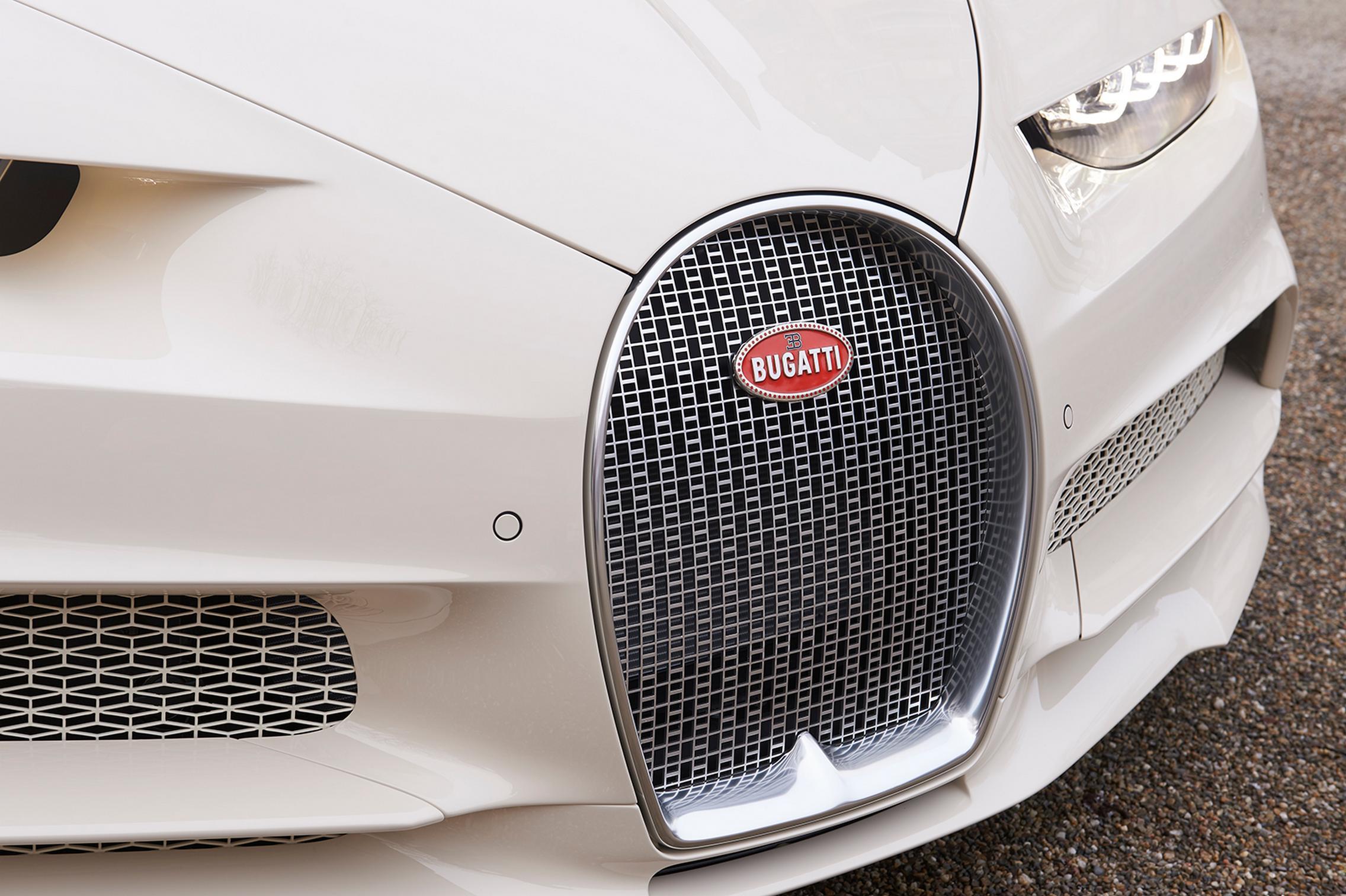 Hermes Bugatti Chiron grille