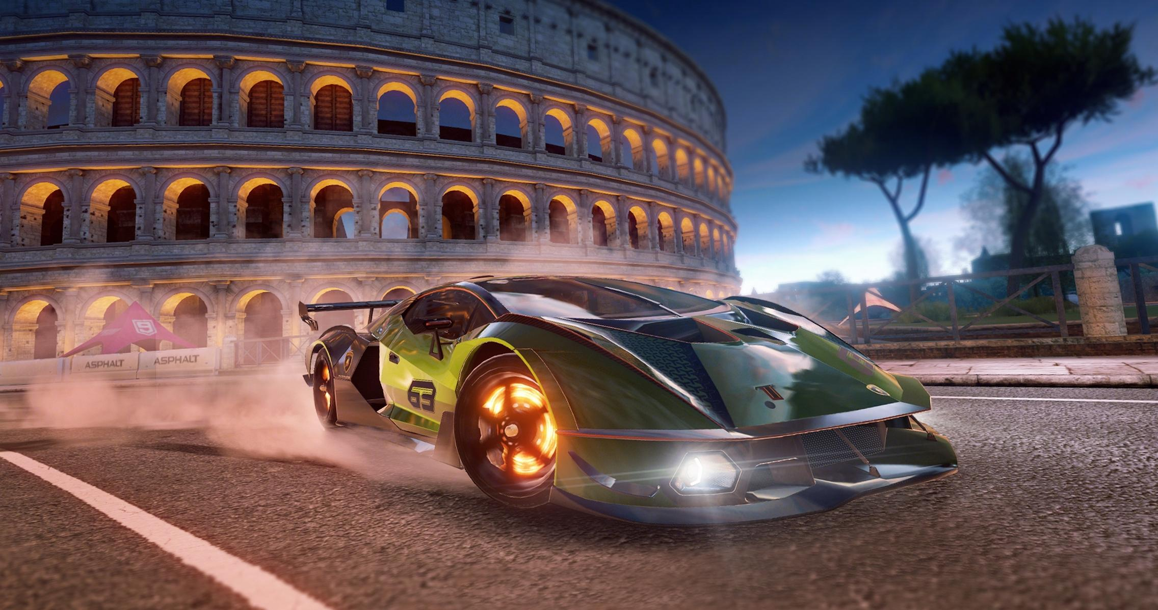 Lamborghini Joins Asphalt 9 Legends with the Essenza SCV12 Hypercar