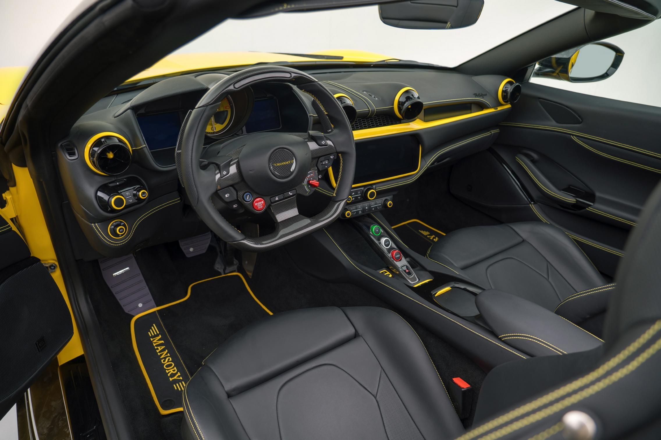 Mansory Ferrari Portofino interior