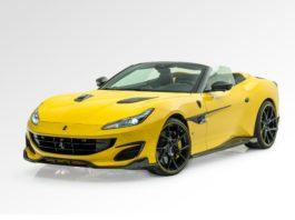 Mansory Ferrari Portofino yellow