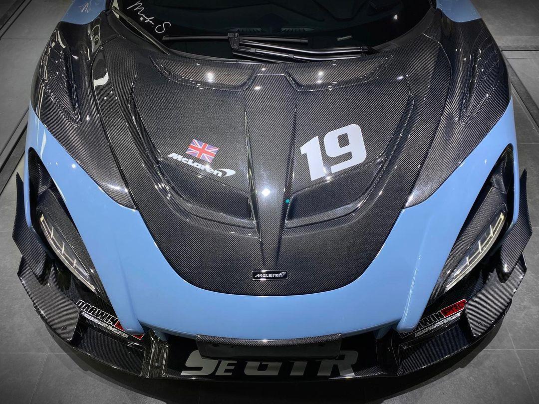 McLaren 720S Carbon Hood