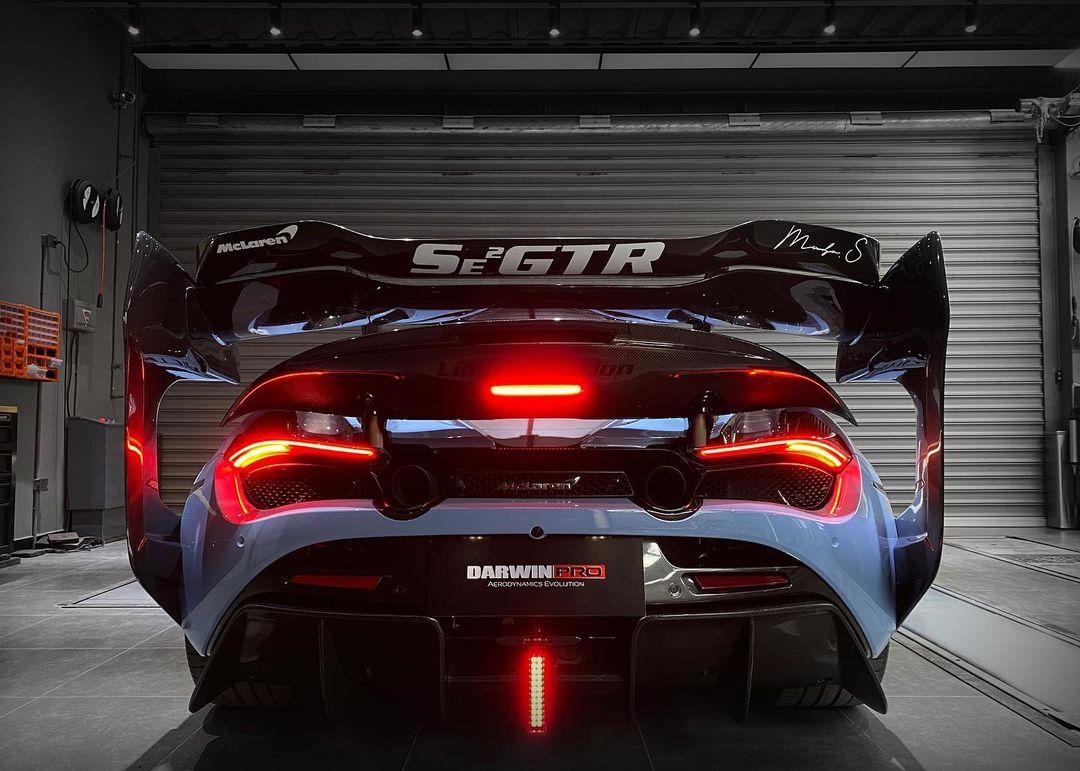 McLaren 720S Senna GTR Wing