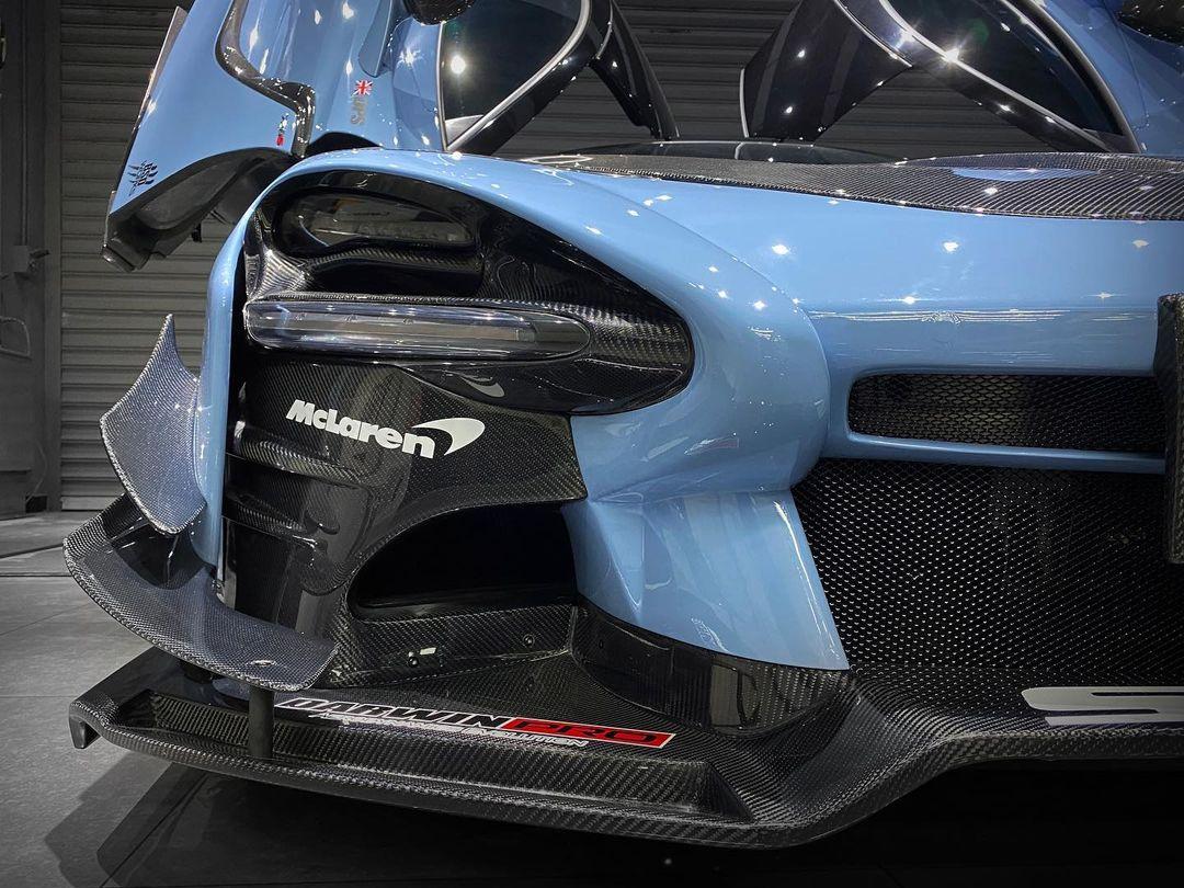 McLaren 720S Senna Headlights