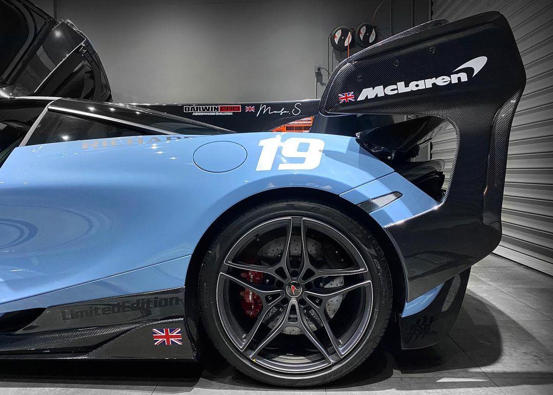 McLaren 720S Wheels