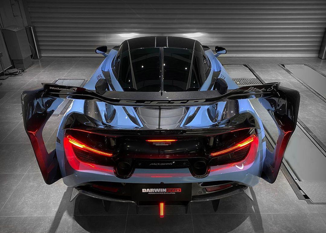 McLaren 720S rear wing