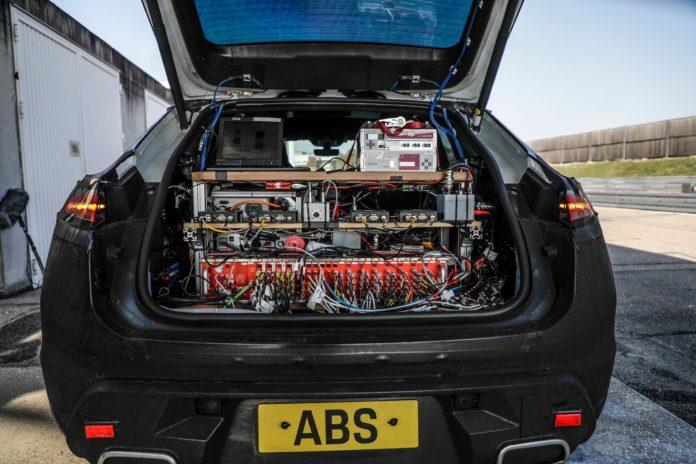Porsche Macan Full Electric Testing