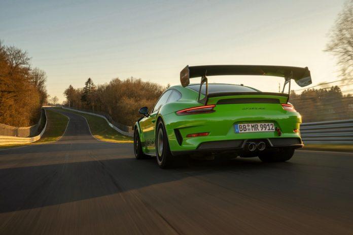 Porsche 991.2 GT3 RS rear