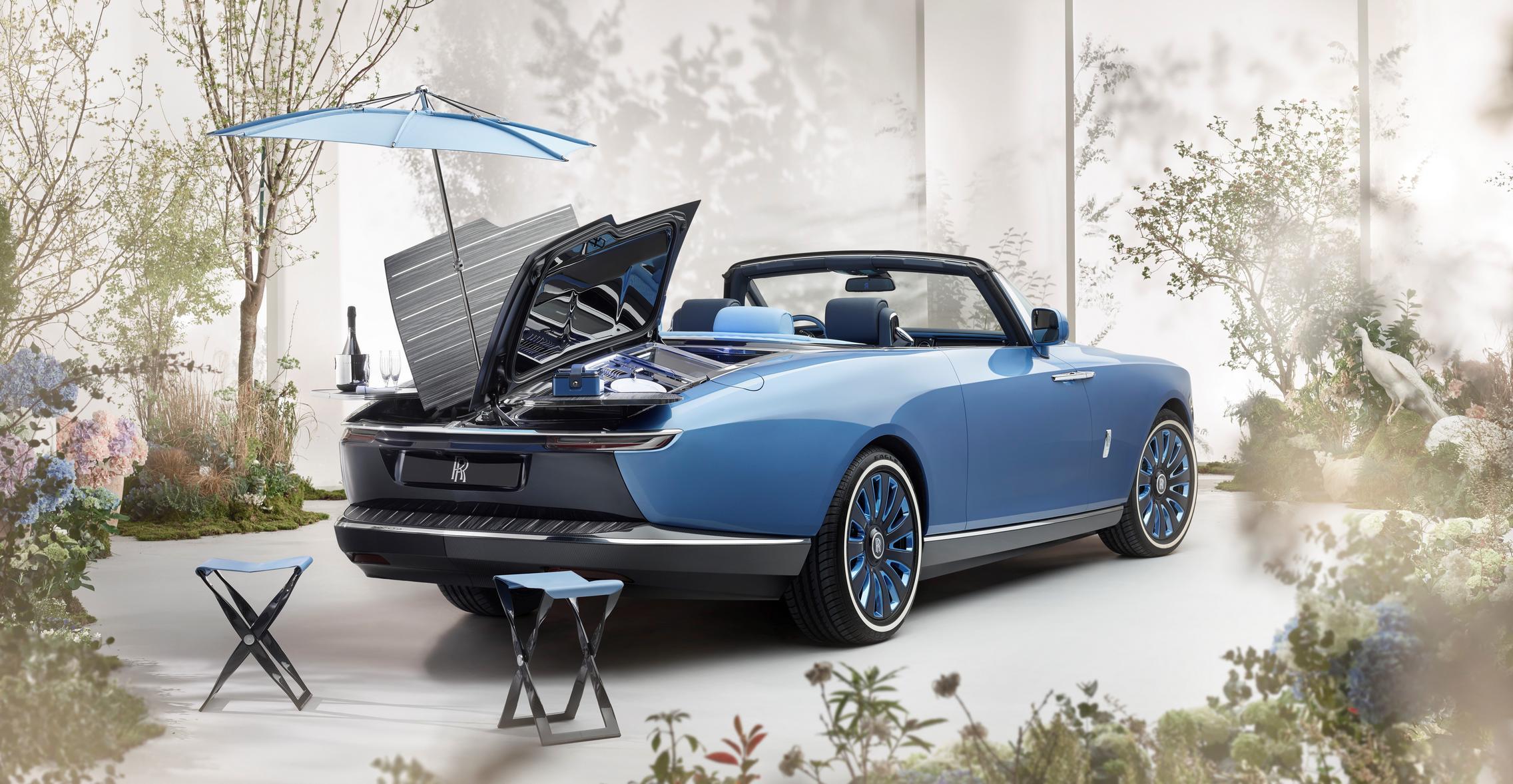 Rolls-Royce Boat Tail picnic