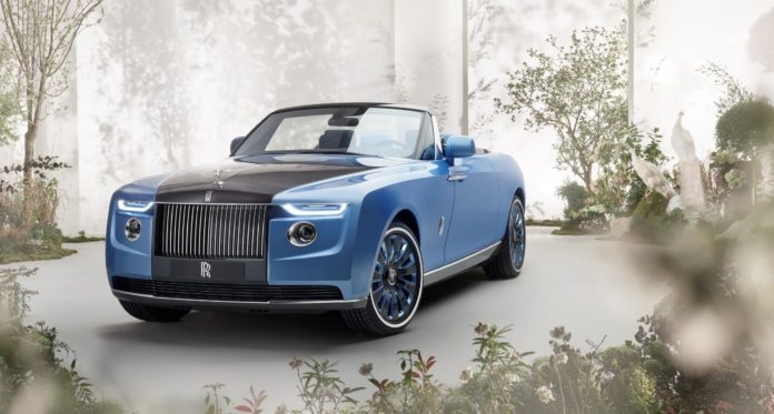 Most Expensive Car in the World: Rolls-Royce Boat-Tail at $28 Million