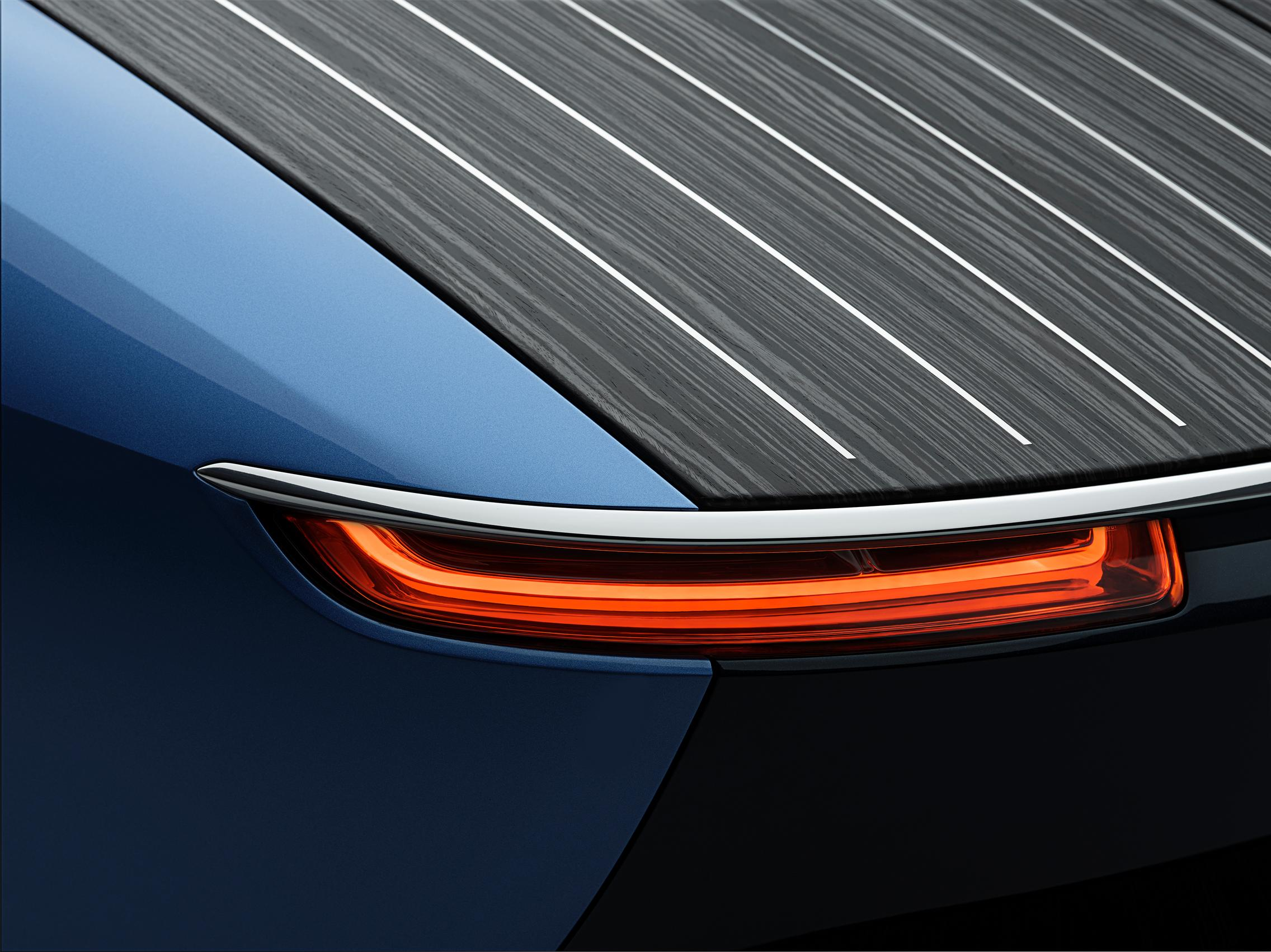 Rolls-Royce Boat Tail taillight