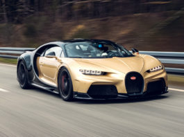 Chiron Super Sport top speed