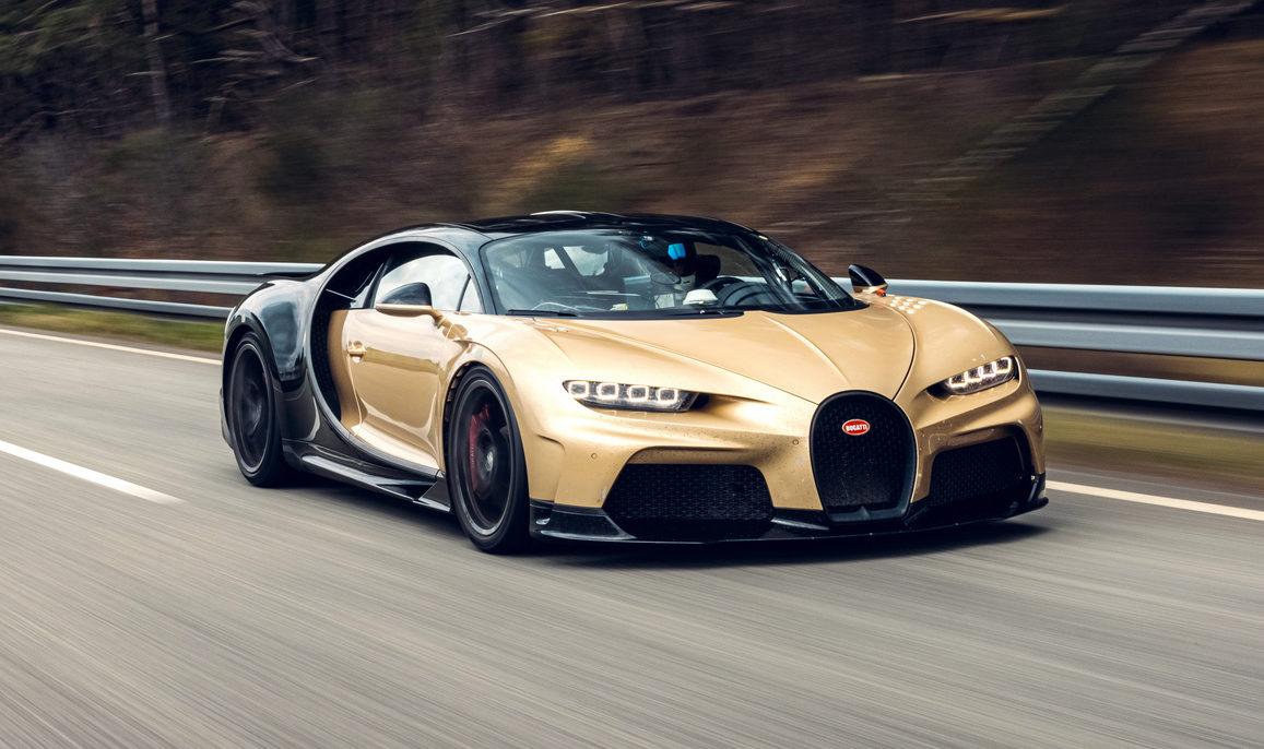 Photos: 2022 Bugatti Chiron Super Sport in New Colors – Gold and Black
