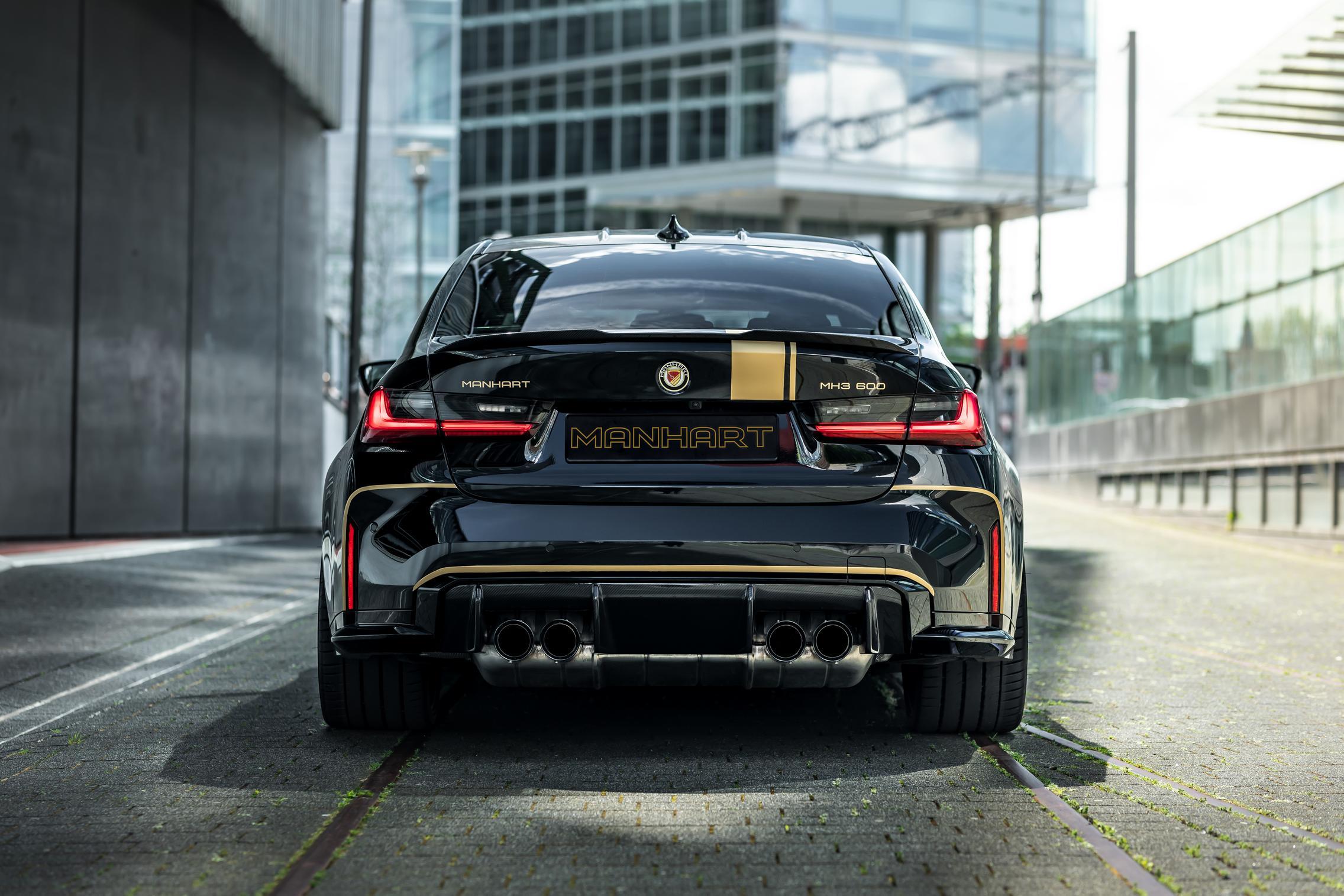 2021 BMW M3 Rear