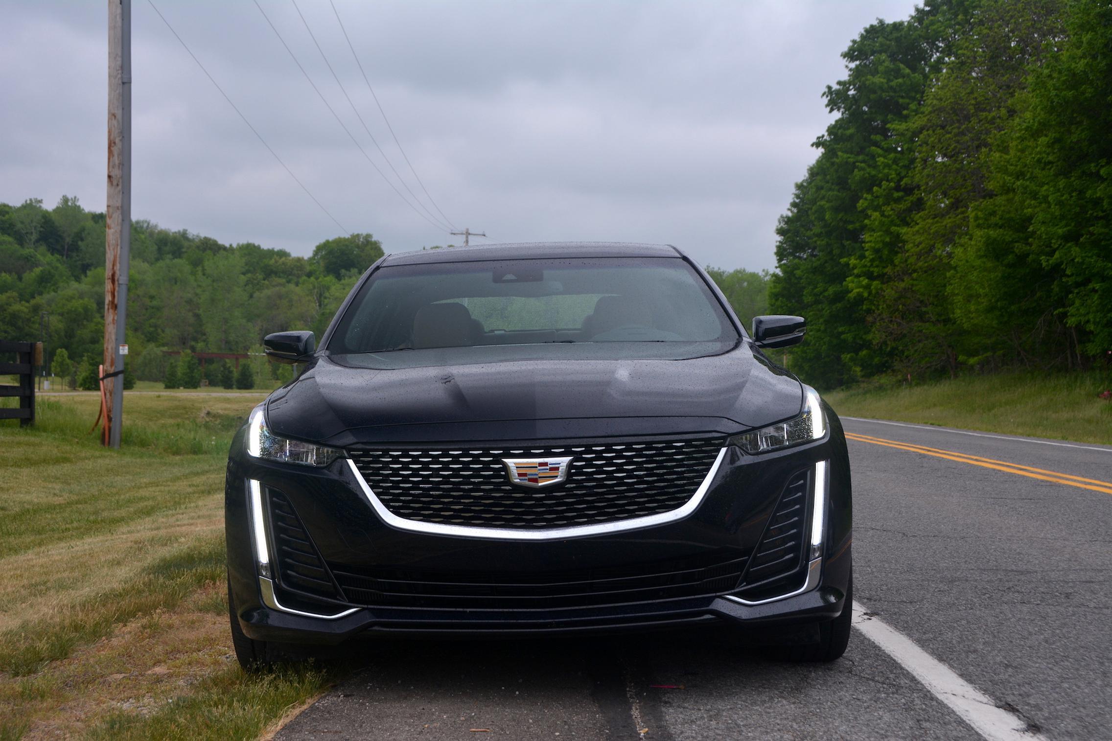 2021 Cadillac CT5 headlights