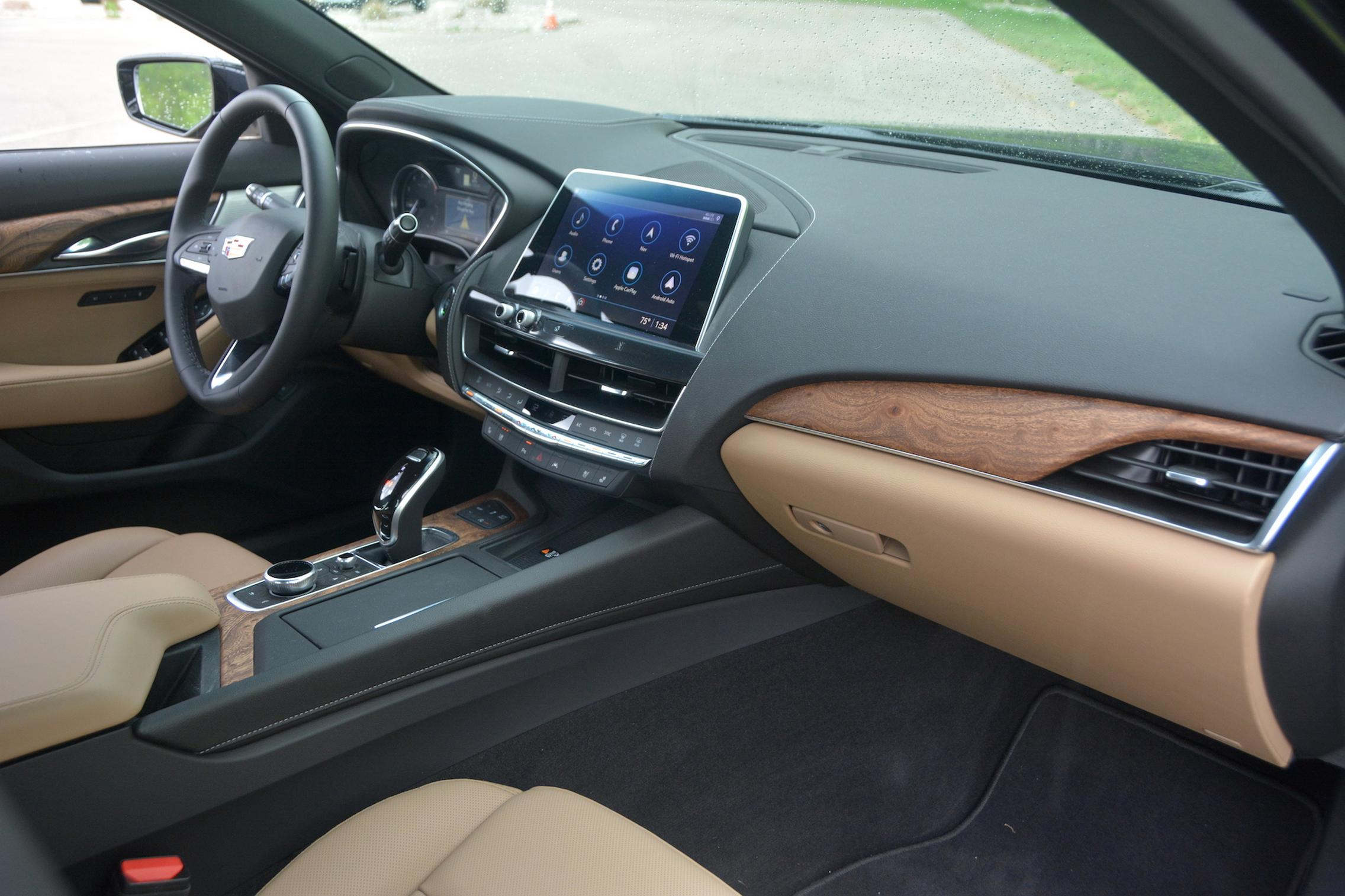 2021 Cadillac CT5 interior