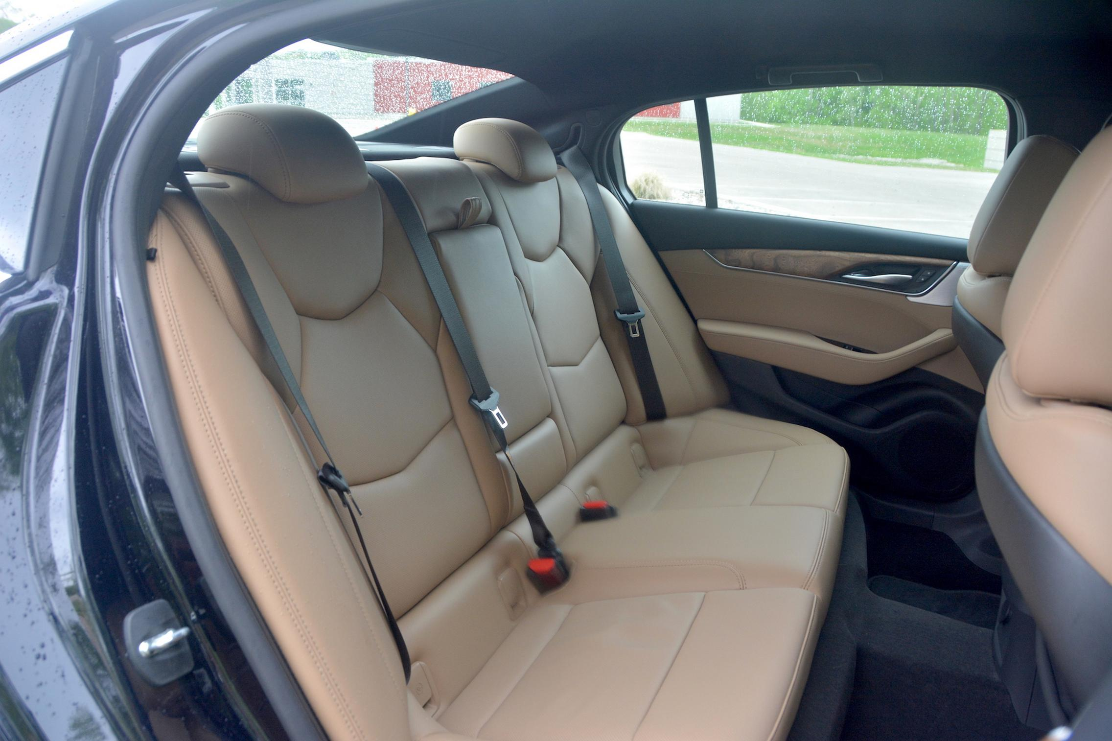2021 Cadillac CT5 rear seats