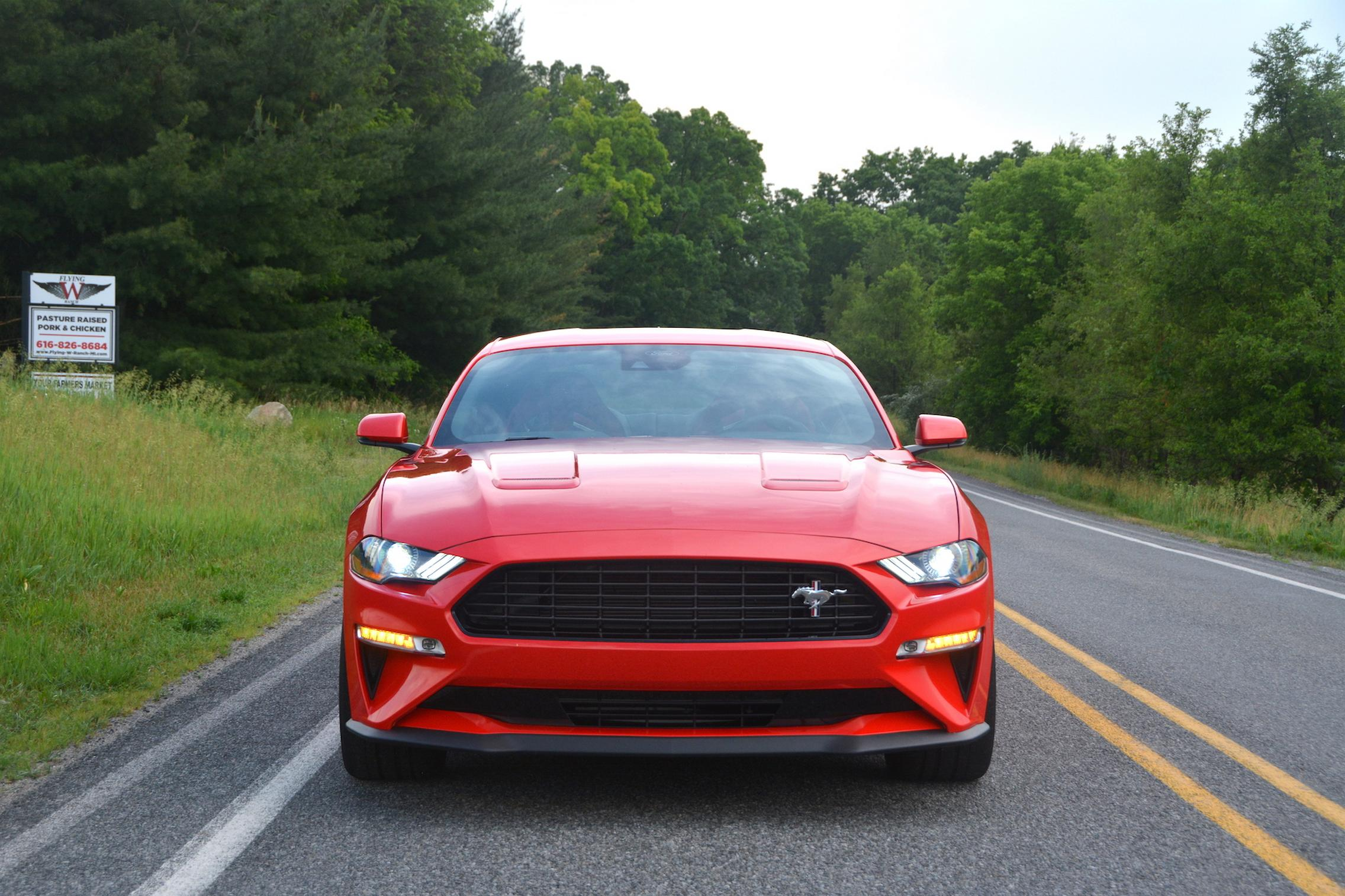 2021 Ford Mustang EcoBoost front