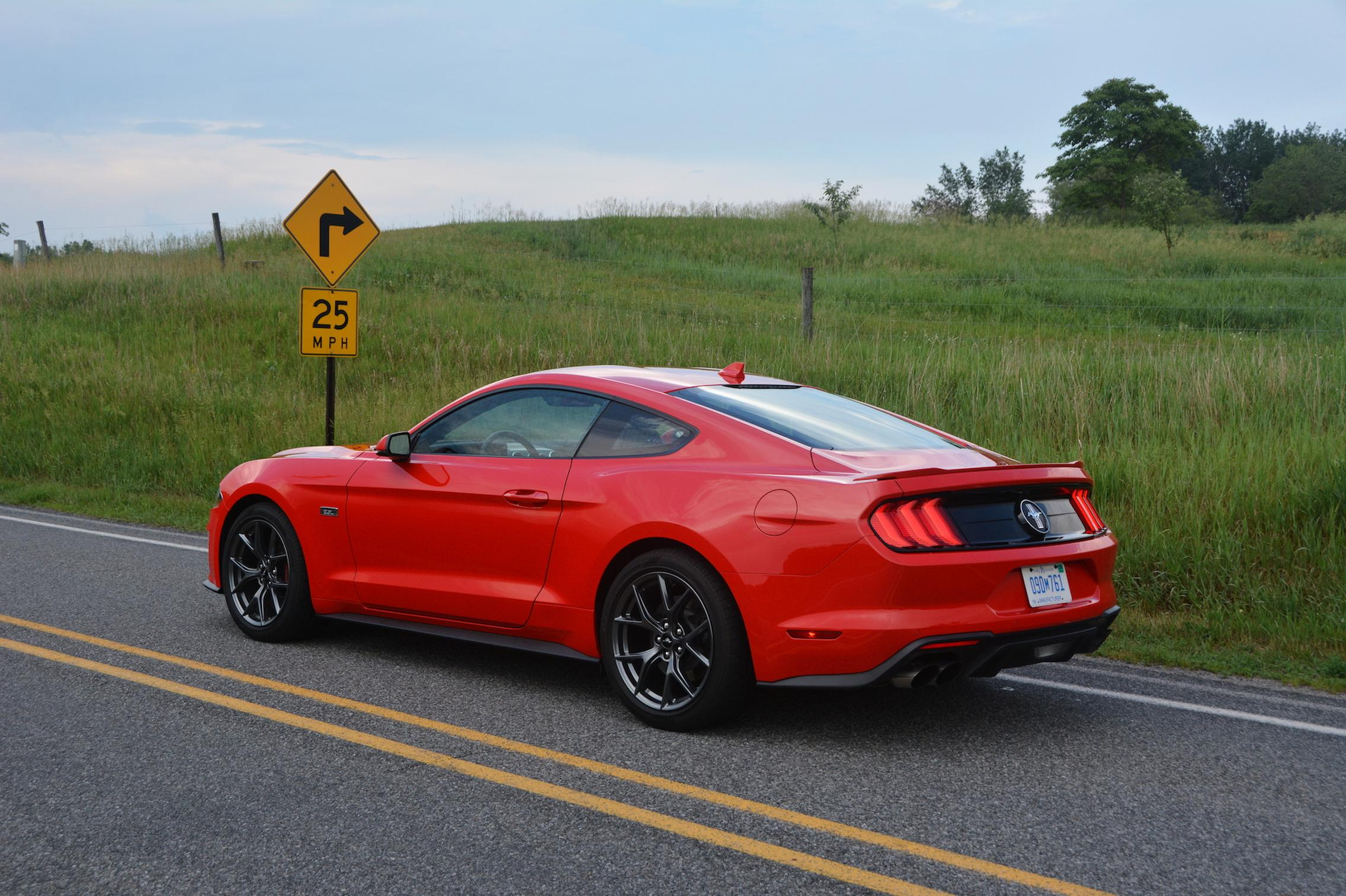 2021 Ford Mustang EcoBoost rear side