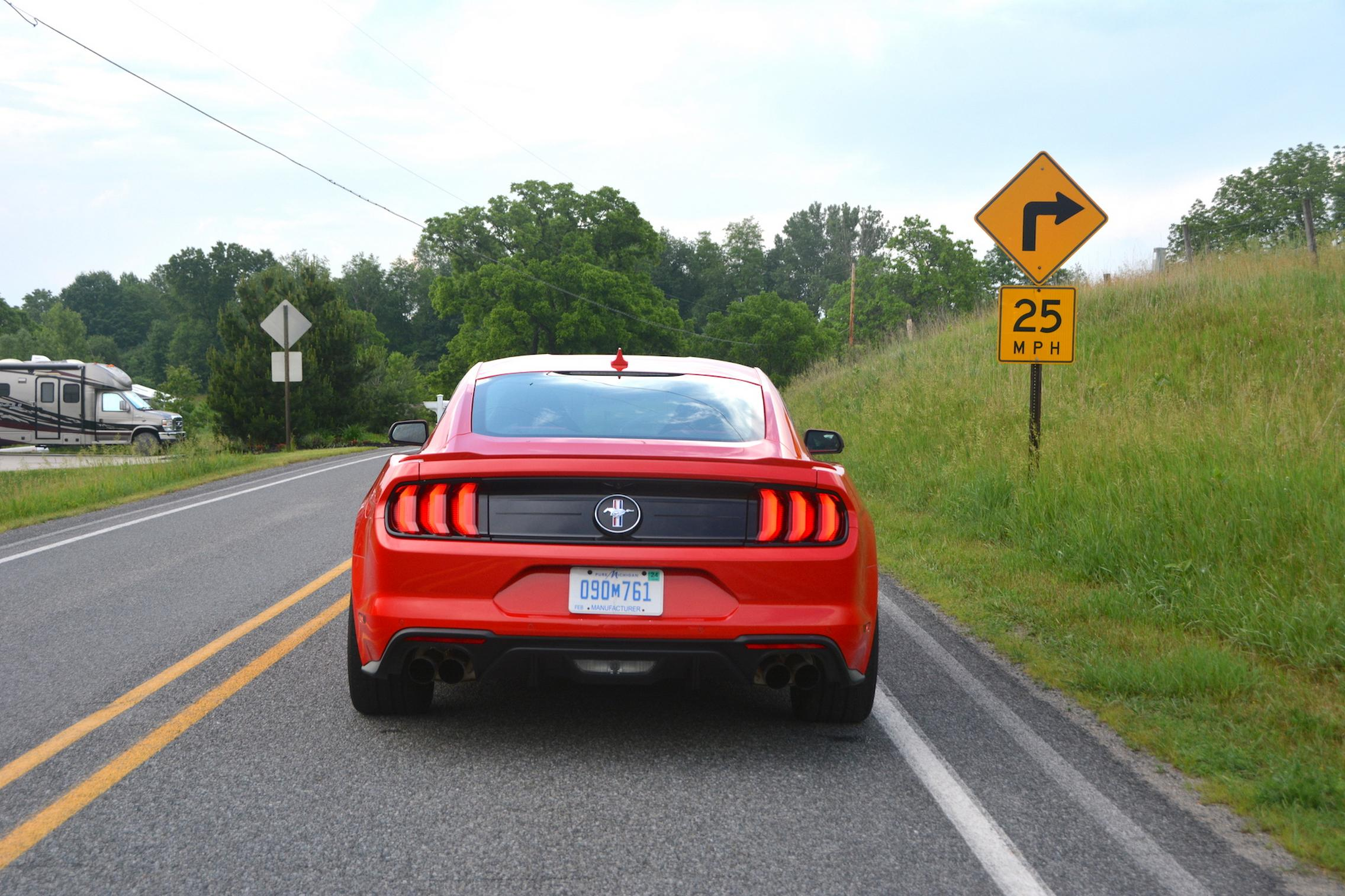2021 Ford Mustang EcoBoost rear