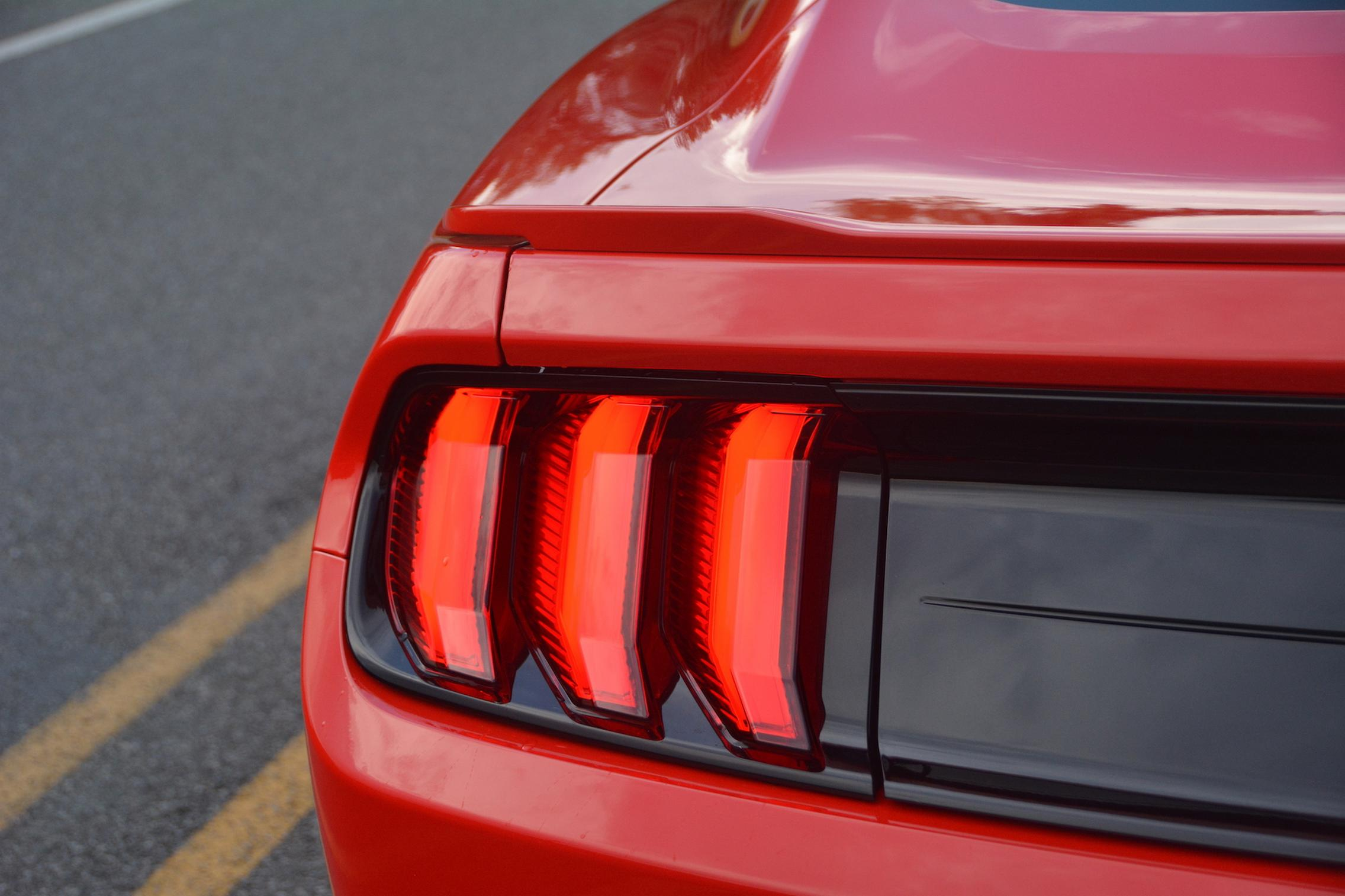 2021 Ford Mustang EcoBoost taillight