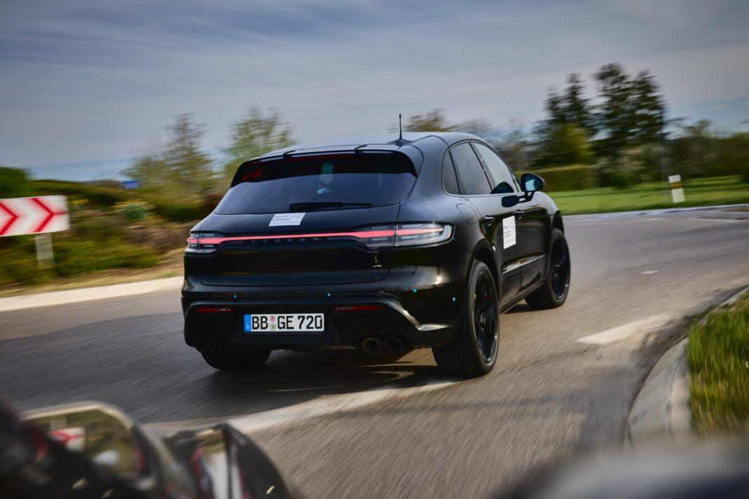 Porsche Macan Facelift rear