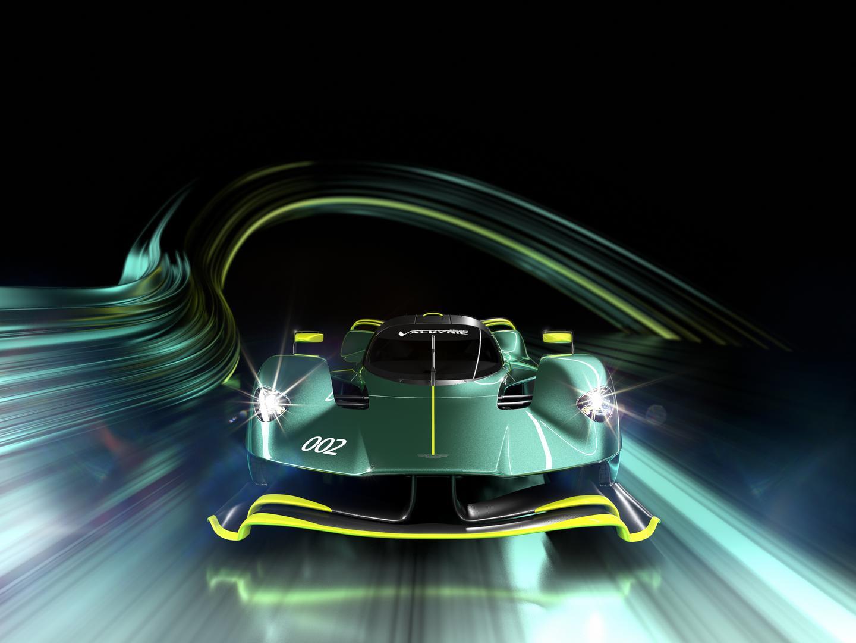 Aston Martin Valkyrie AMR Pro front