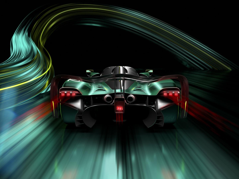 Aston Martin Valkyrie AMR Pro rear lights
