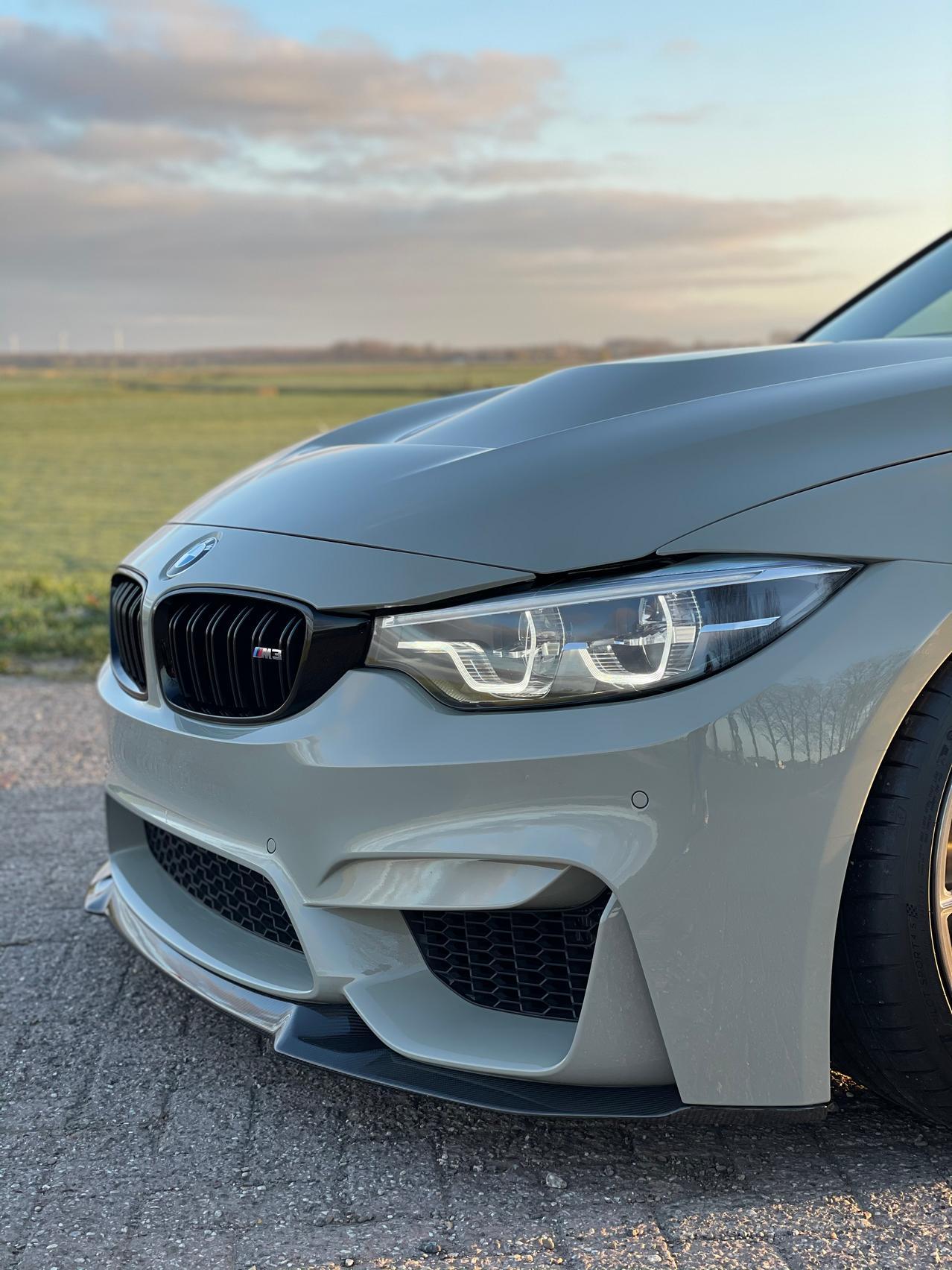 BMW M3 CS Touring headlight