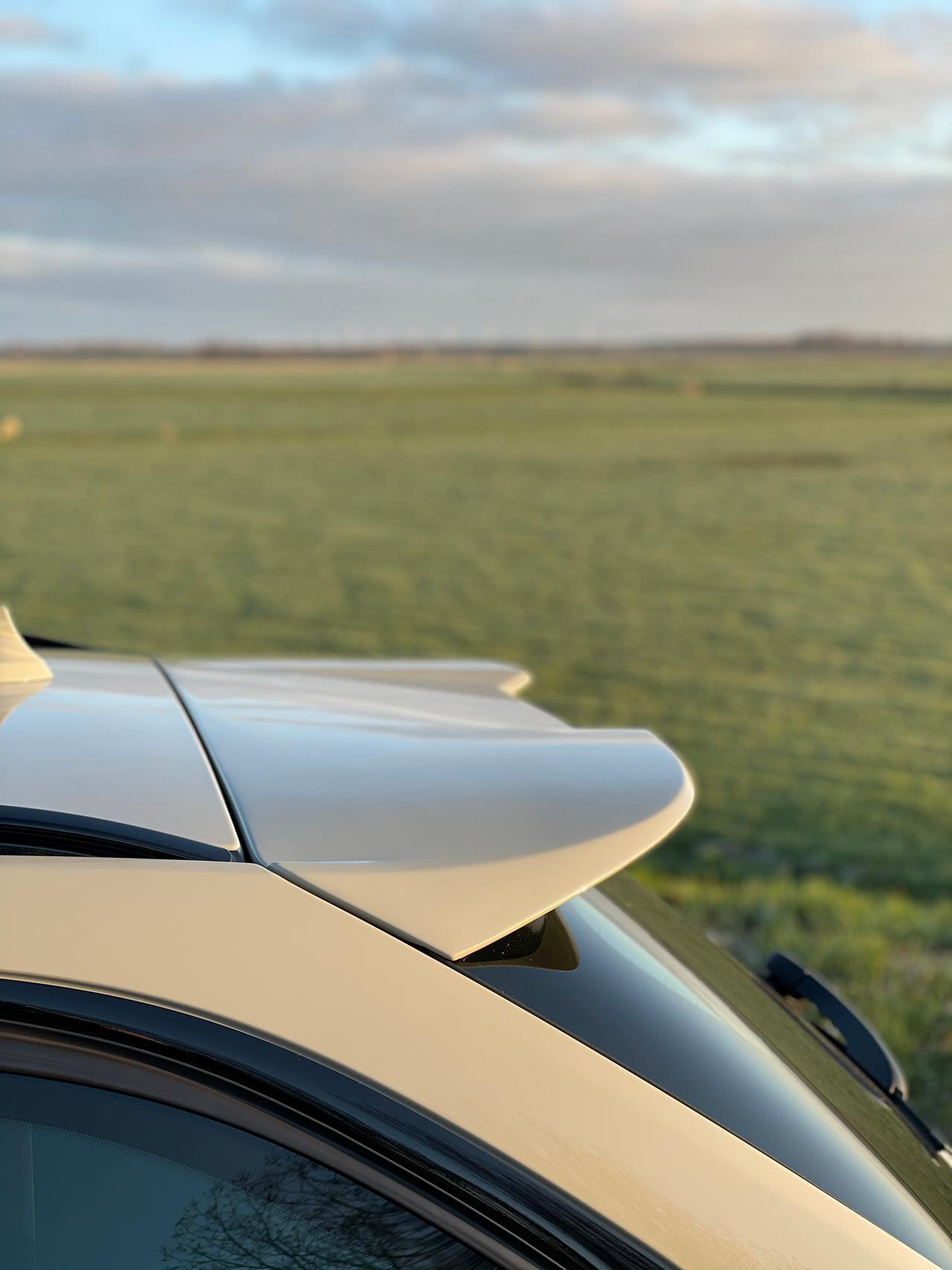 BMW M3 CS Touring rear spoiler