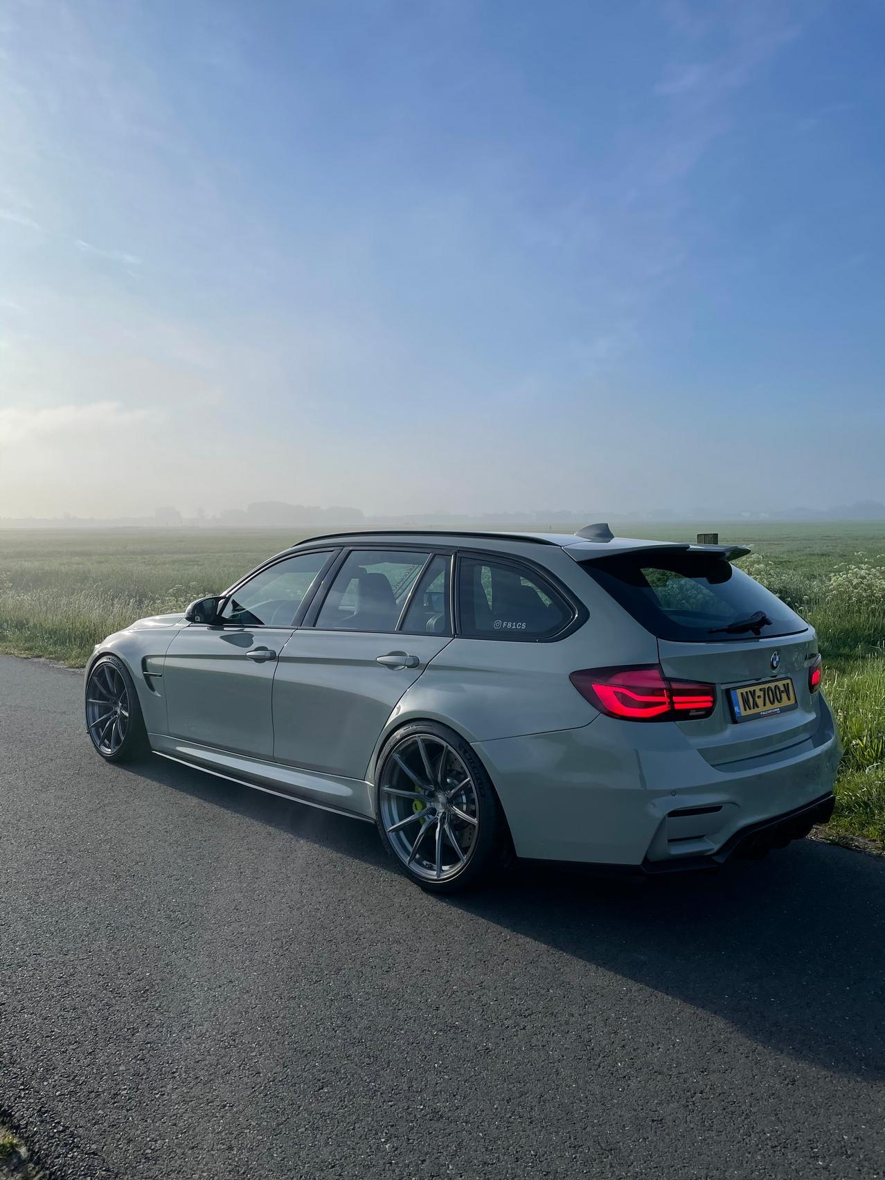 BMW M3 CS Touring rear