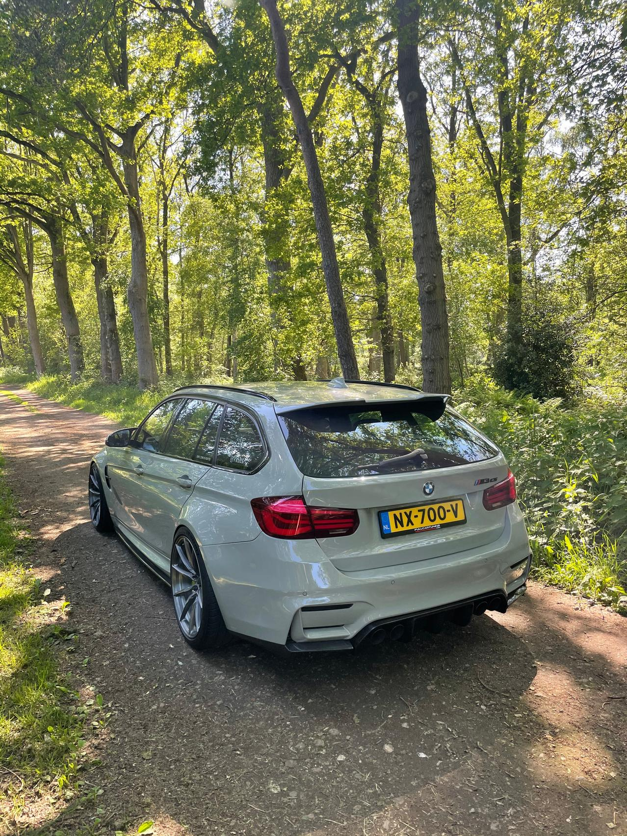 BMW M3 CS Wagon rear