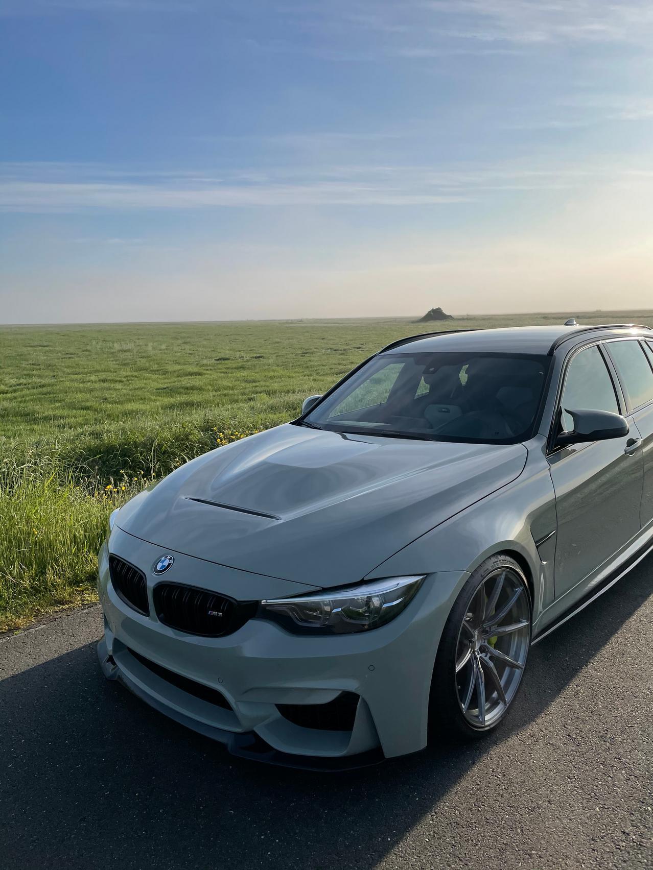 BMW M3 CS hood