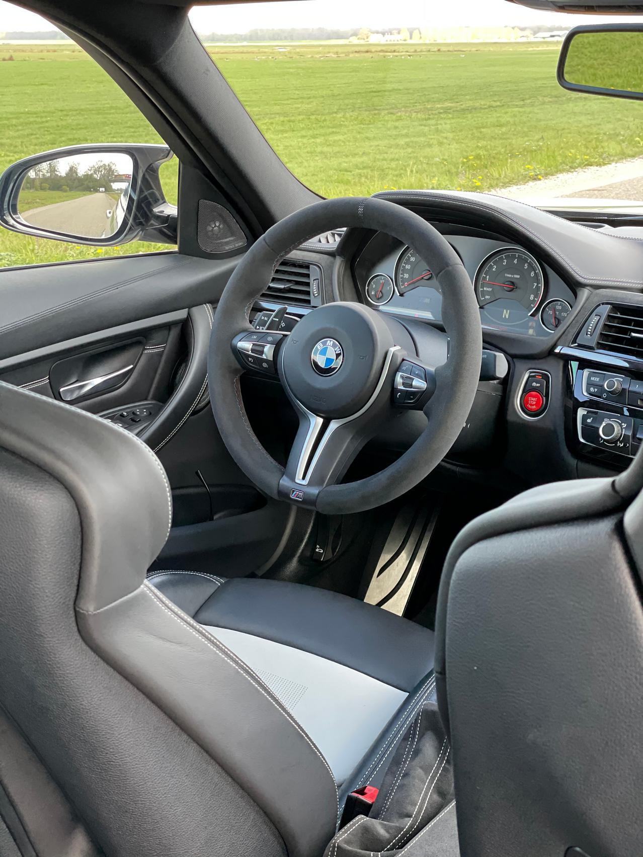 BMW M3 CS steering wheel