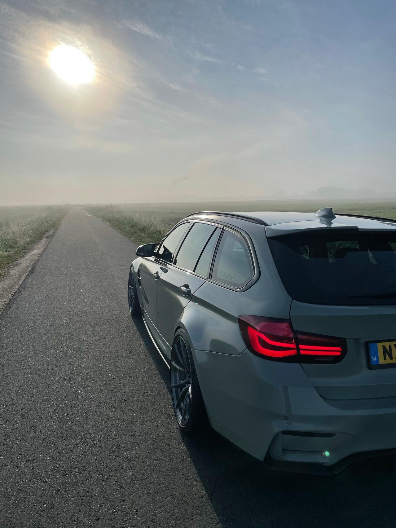 BMW M3 CS taillight
