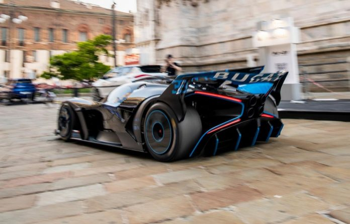 Bugatti Bolide price