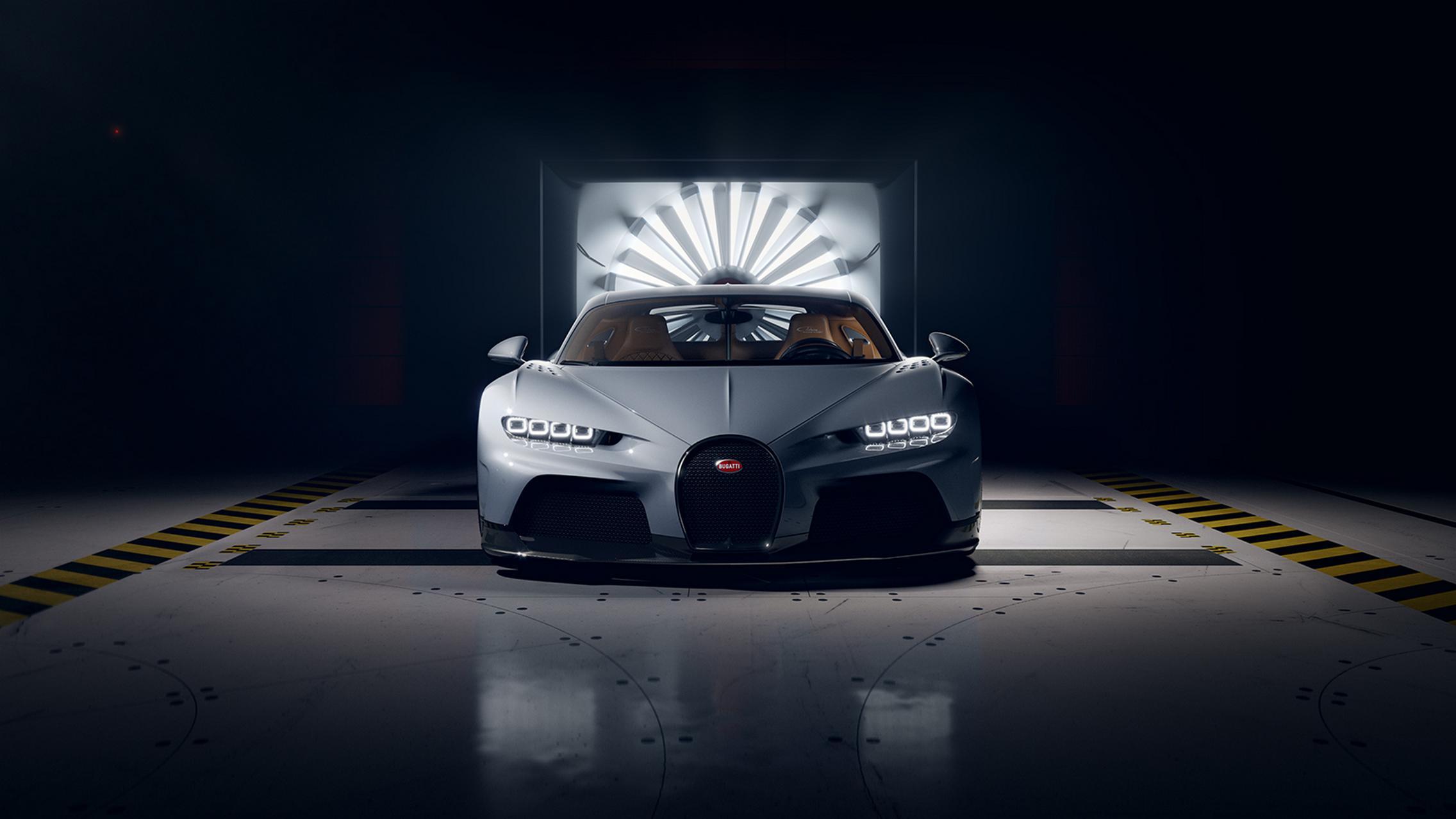 Bugatti Chiron Super Sport front