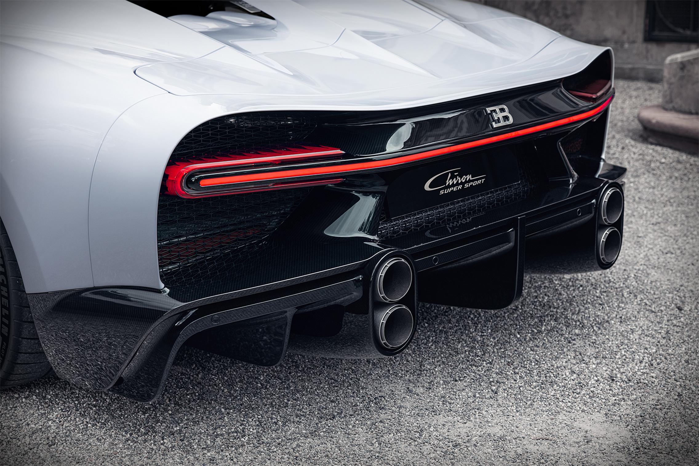 Bugatti Chiron Super Sport rear lights