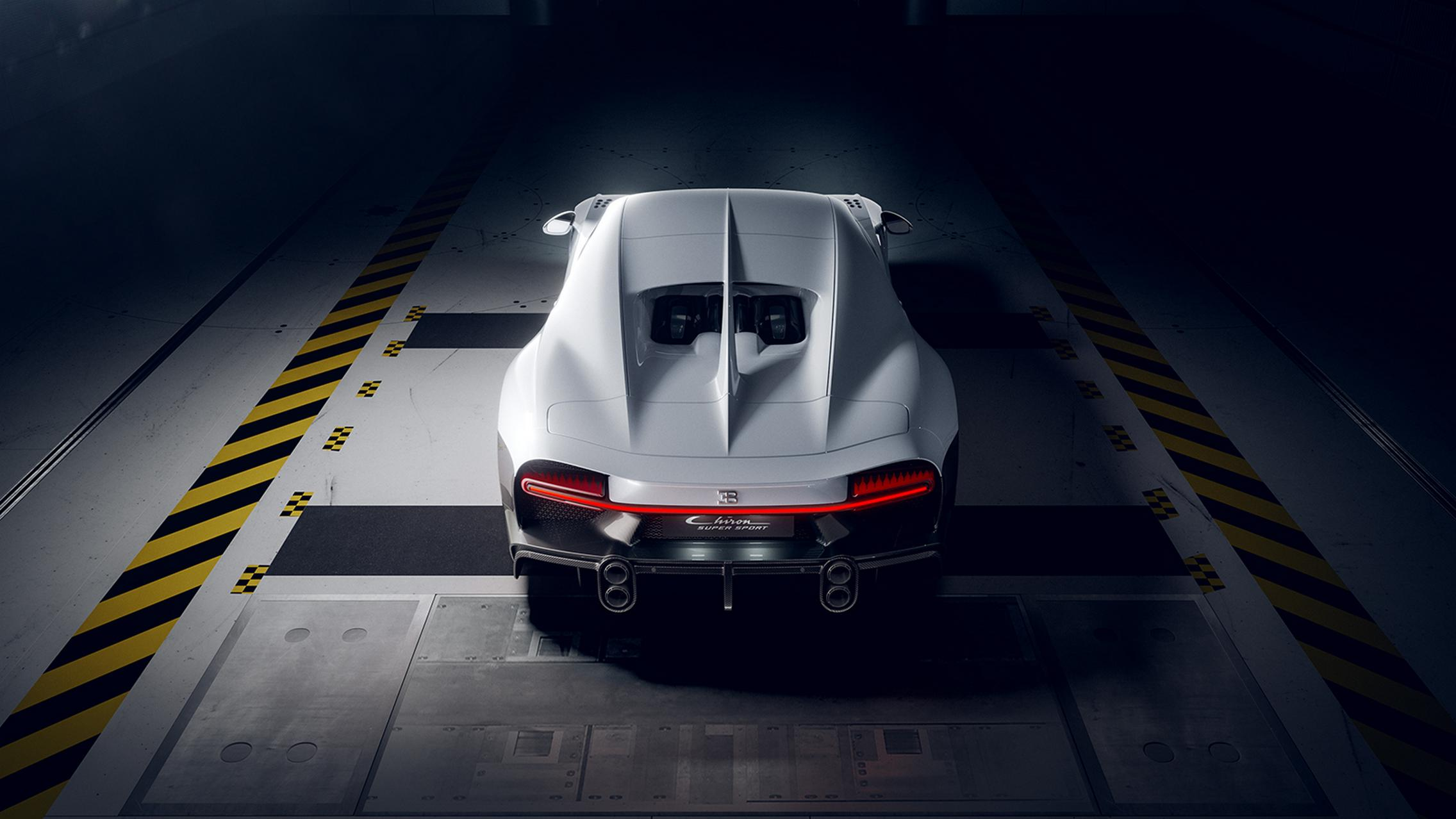 Bugatti Chiron Super Sport rear