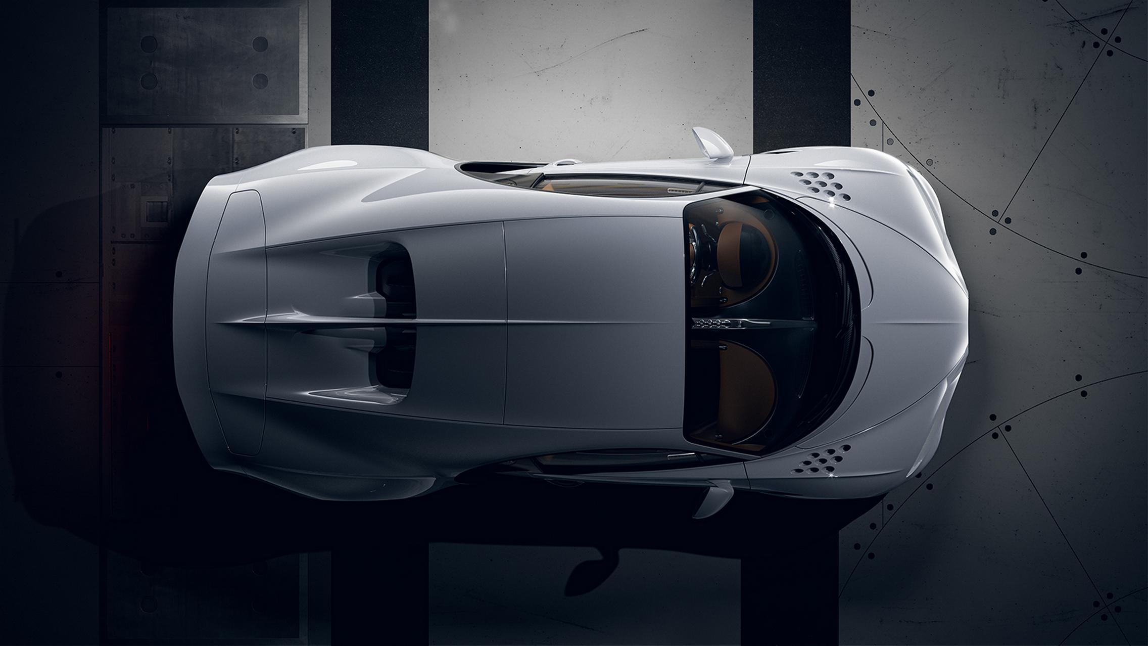 Bugatti Chiron Super Sport top